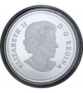 Серебряная монета 1/4oz Дракон 8 долларов 2018 Канада