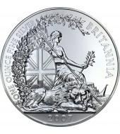 Срібная монета 1oz Британія 2 фунта стерлінгів Великобританія 2007