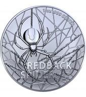 Срібна монета 1oz Червоноспиний павук 1 долар 2020 Австралія