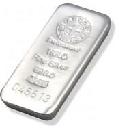 Серебряный слиток 1000 грамм 999 Fine Silver 1Kilo Argor-Heraeus