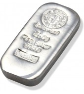 Серебряный слиток 250 грамм 999 Fine Silver Argor-Heraeus