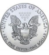 Срібна монета 1oz Американський Орел 1 долар 2020 США