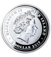 Набір з двох весільних монет 1 долар і 50 центів 2019 Ніуе