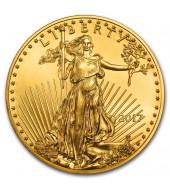 Золота монета 1/4oz Американський Орел 10 доларів 2017 США