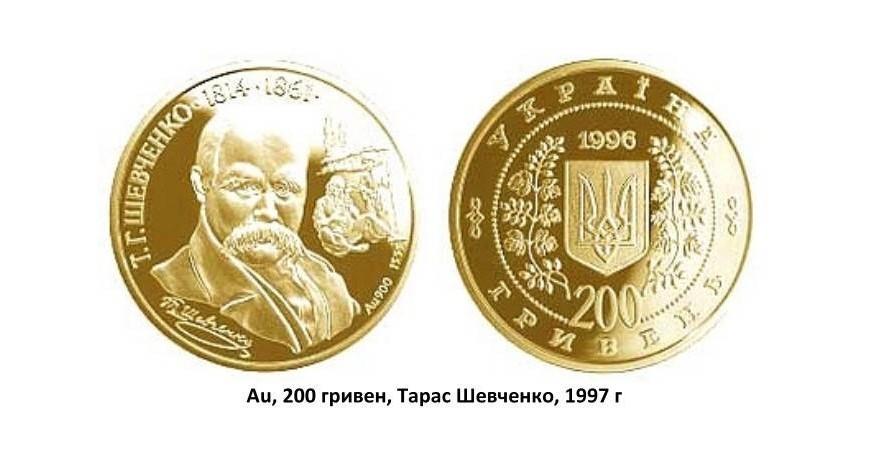 Золоті монети України