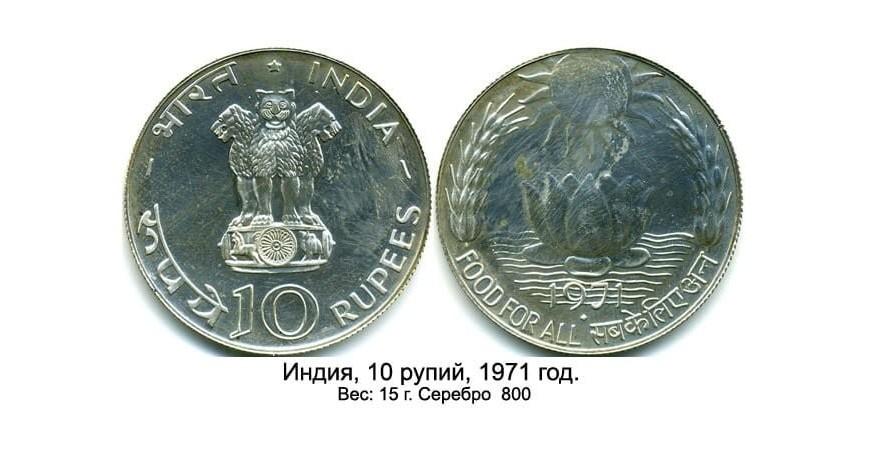 Монети Азії